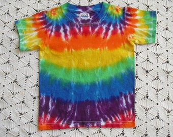 Tie dye Youth XS shirt-  Rainbow of colors!