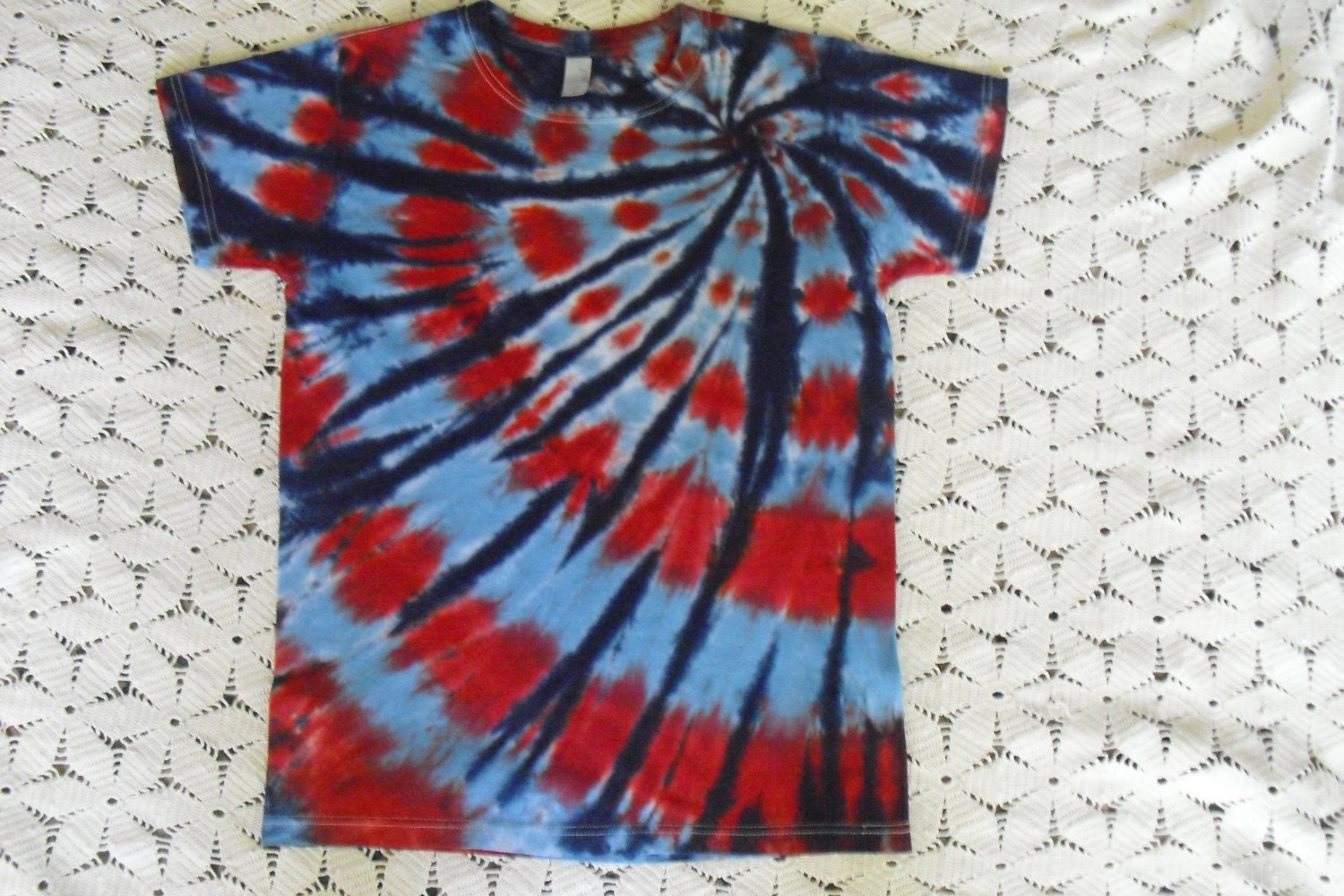Tie Dye Shirt All Sizes Custom Dyed And Shipped By Bristiedyes