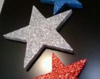 Glitter star set