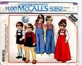 McCalls 1976 Carefree Pattern 5352