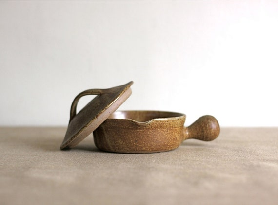 french rustic clay pot