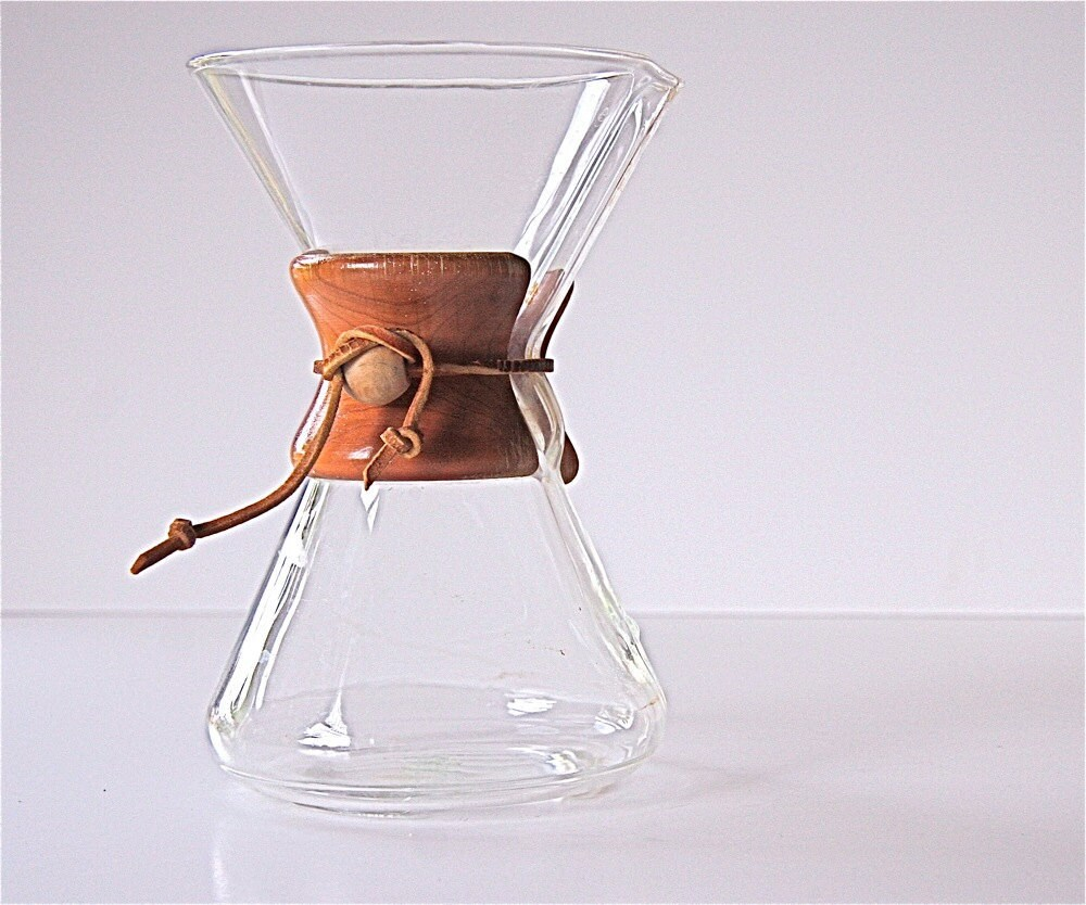 vintage chemex coffee pot by Pyrex by voladoravintage on Etsy