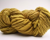 Thick and Thin Slub Yarn TTS Hand dyed Fine Merino 55tts12013 Toffee