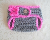 Newborn Diaper Cover, Crochet Diaper Covers