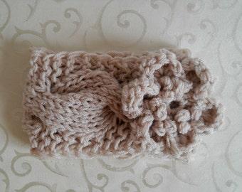 Newborn Headbands, Baby Girl Headbands, Newborn Crochet Headband Flower
