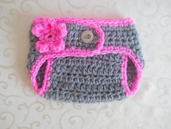 Newborn Diaper Cover Crochet Diaper Covers by effybags on Etsy