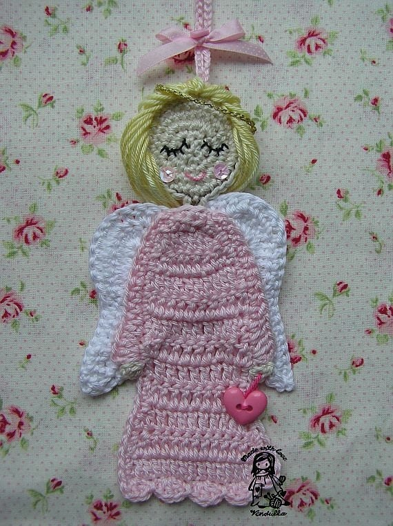Sweet Angel - crochet pattern