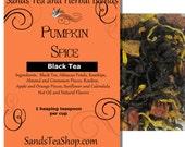 Nip in the Air Pumpkin Spice Loose Leaf Tea - 1 oz Sample