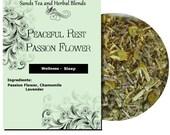 Peaceful Rest Passion Flower Wellness Blend  1 oz Sampler