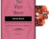 Very Berry - Juicy Fruit and Spice Herbal Tea - 3 oz