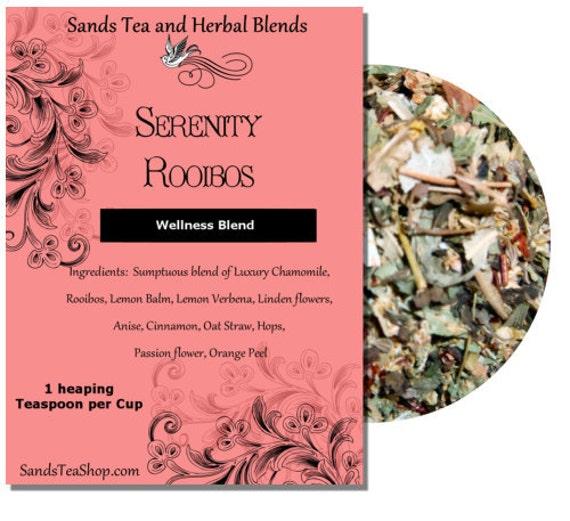 Serenity Rooibos Wellness Blend - 20 Tea Bags