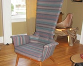 RESERVED for blugirl - Danish Mid Century Modern Arm Chair - Adrian Pearsall Design - Wonderful As It Is