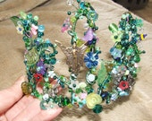 RESERVED FOR NADIA - A Magical Midsummer Night's Dream Fairy Tiara