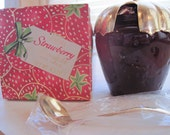 Vintage Avon Bottle Strawberry