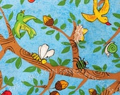 Half Yard Treetop, Farm Out, P&B Textiles, 100% Cotton Fabric