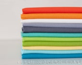 Half Yard QuiltCon Kona Bundle, 11 Pieces, Robert Kaufman Kona Cotton Solids