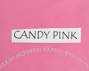 One Yard Candy Pink Kona Cotton Solid Fabric from Robert Kaufman, K001-1062