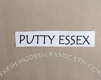 One Yard Putty Essex, Linen and Cotton Blend Fabric from Robert Kaufman, E014-1303