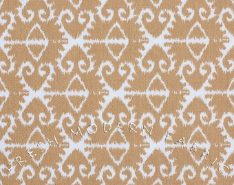 Half Yard Spa Ikat in Sand, Spa Collection in Sorbet, Michael Miller Fabrics, 100% Cotton Fabric
