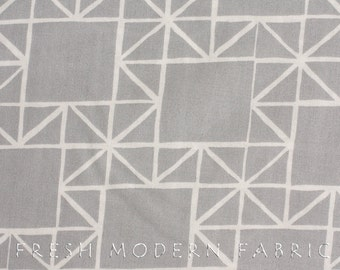 LAST PIECE Half Yard Quilt Blocks Stars in Shade Grey, Ellen Luckett Baker, Moda Fabrics, 100% Cotton Fabric