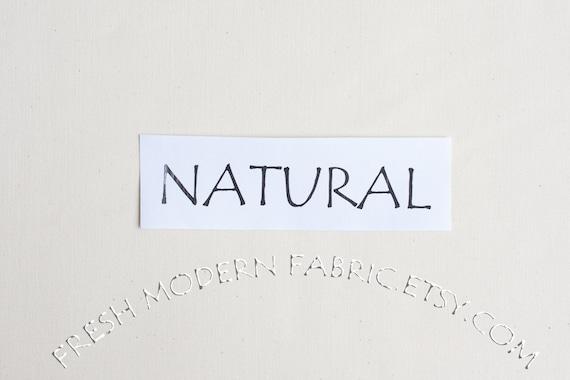 One Yard Natural Kona Cotton Solid Fabric from Robert Kaufman, K001-1242