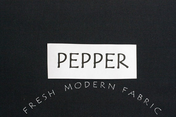 One Yard Pepper Kona Cotton Solid Fabric from Robert Kaufman, K001-359