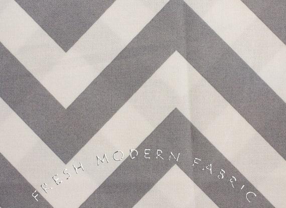 Half Yard of Half Moon Modern Zig Zag in Steel, Moda Fabrics, 100% Cotton Fabric, 32349-21