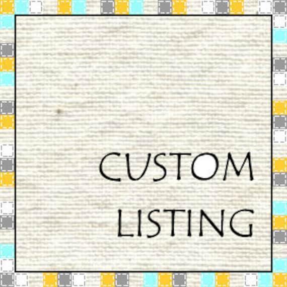 Custom Listing for Destiny