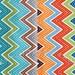 LAST Fat Quarter Bundle Stitch Chevrons in Lagoon and Garden, 100% Organic Cotton, Betz White, Robert Kaufman Fabrics