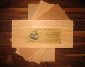 4 Organic Cedar Grilling Planks