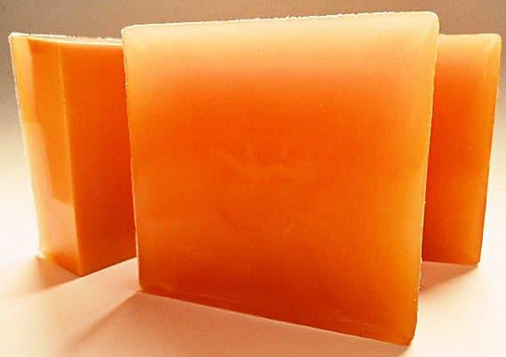 Tangerine Soap - Shea Butter Handmade Soap - Vegan