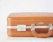 Brown Hardshell Suitcase