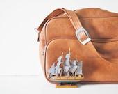 Vinyl Shoulder Bag - Carry on - For Him