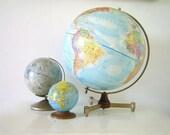 Mid-Century 12inch Replogle World Globe