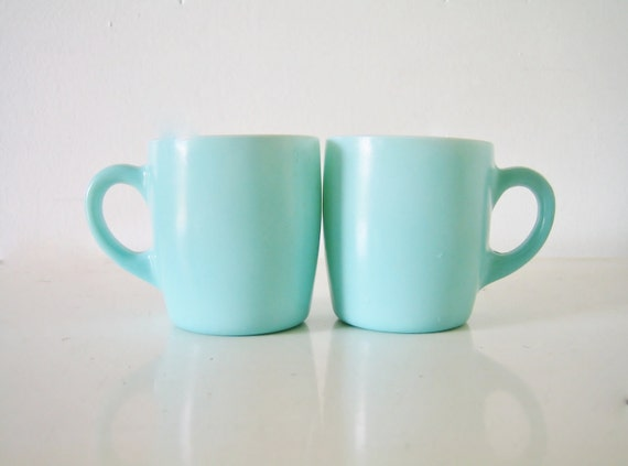 Mid-Century Anchor Hocking Mugs