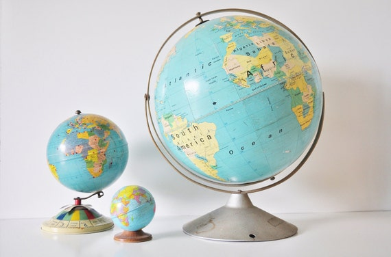 16 inch Dual Axis World Globe