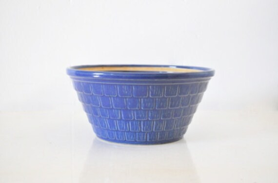Black Friday-Cyber Monday Sale - Blue Mixing Bowl - USA