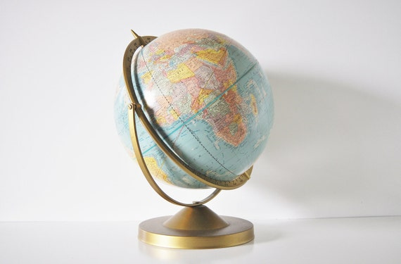 Cram's 12 Inch World Globe