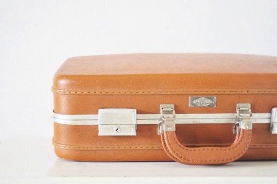 Brown Hardshell Suitcase
