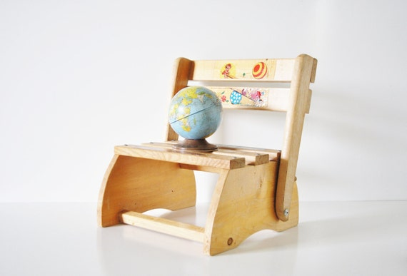 Child's Folding Step Stool
