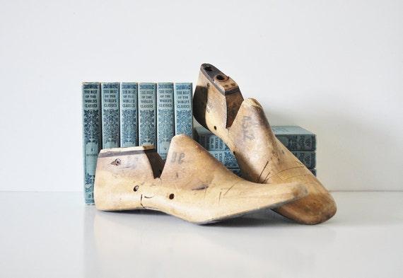 Vintage Shoe Molds / Shoe Forms -  Circa 1969