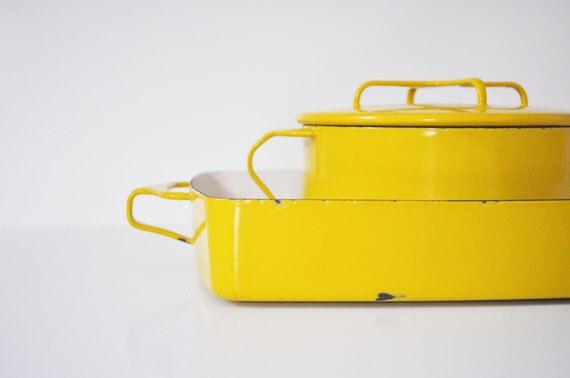 Dansk Kobenstyle Pan - Mustard Yellow