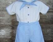 3T Boy's Easter Shirt & Shorts