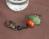 Fire Agate and Green Aventurine Healthy Horse