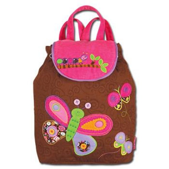 Stephen Joseph Signature Butterfly Backpack, Personalized for You