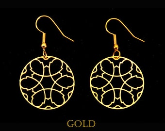 Melun Cathedral Gothic Earrings