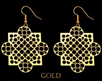 Lausanne Cathedral Gothic Earrings