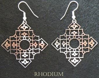 Compassion Islamic Earrings