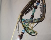 Beaded Dream Catcher- Custom- Love Birds Devils Claw Dream Catcher
