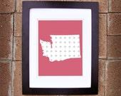 Washington State Print - 8x10 Printable Art